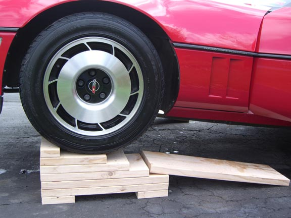 how to make car trailer ramps out of wood
